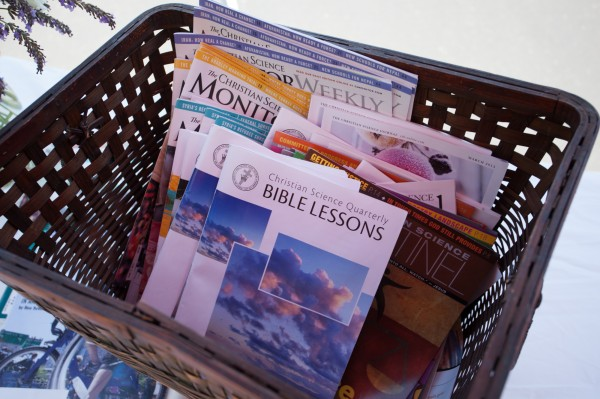 Free Christian Science periodicals to share