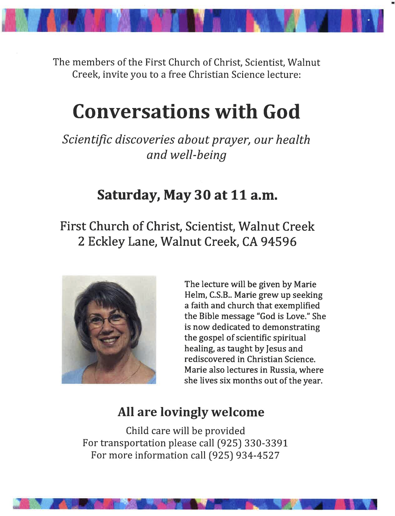 Lecture - Conversations with God